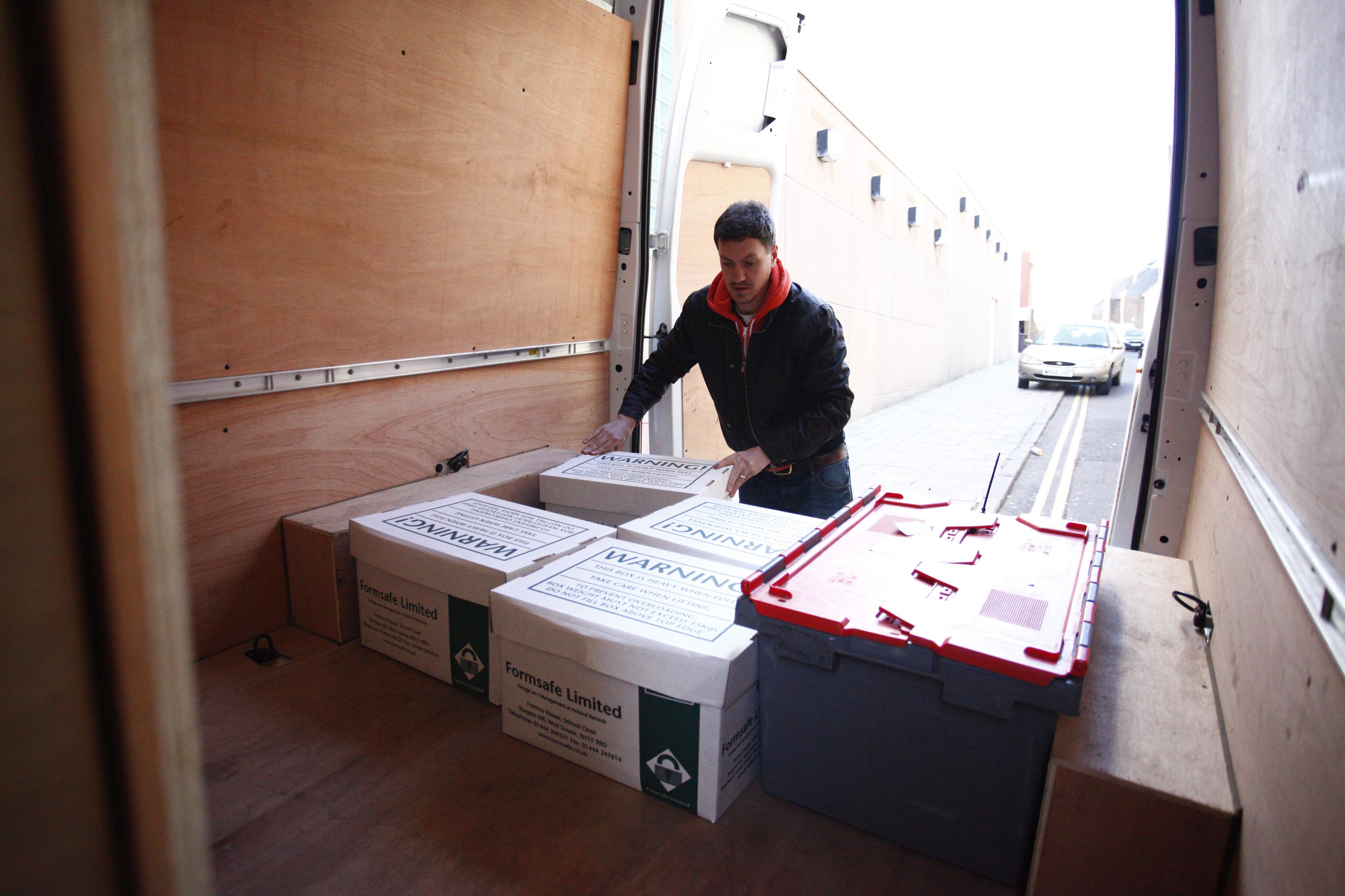 Loading parcels