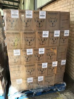 Dog Food Pallet