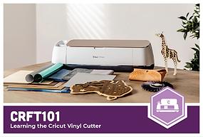 CRFT101: Learning the Cricut Vinyl Cutter