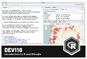 DEV 118: Introduction to R and RStudio