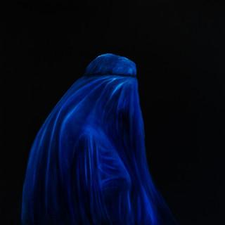 Eliane_Zinner,_Die_Burka,_100x100cm,_Öl_