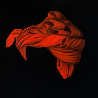 Eliane_Zinner,_Das_rote_Kopftuch,_100x10