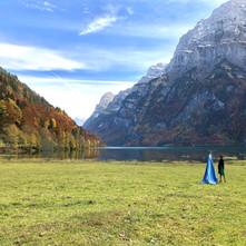 my guests Klöntalersee, Glarus