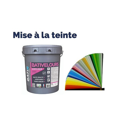 Teinte BatiVelours BATIR PEINTURES