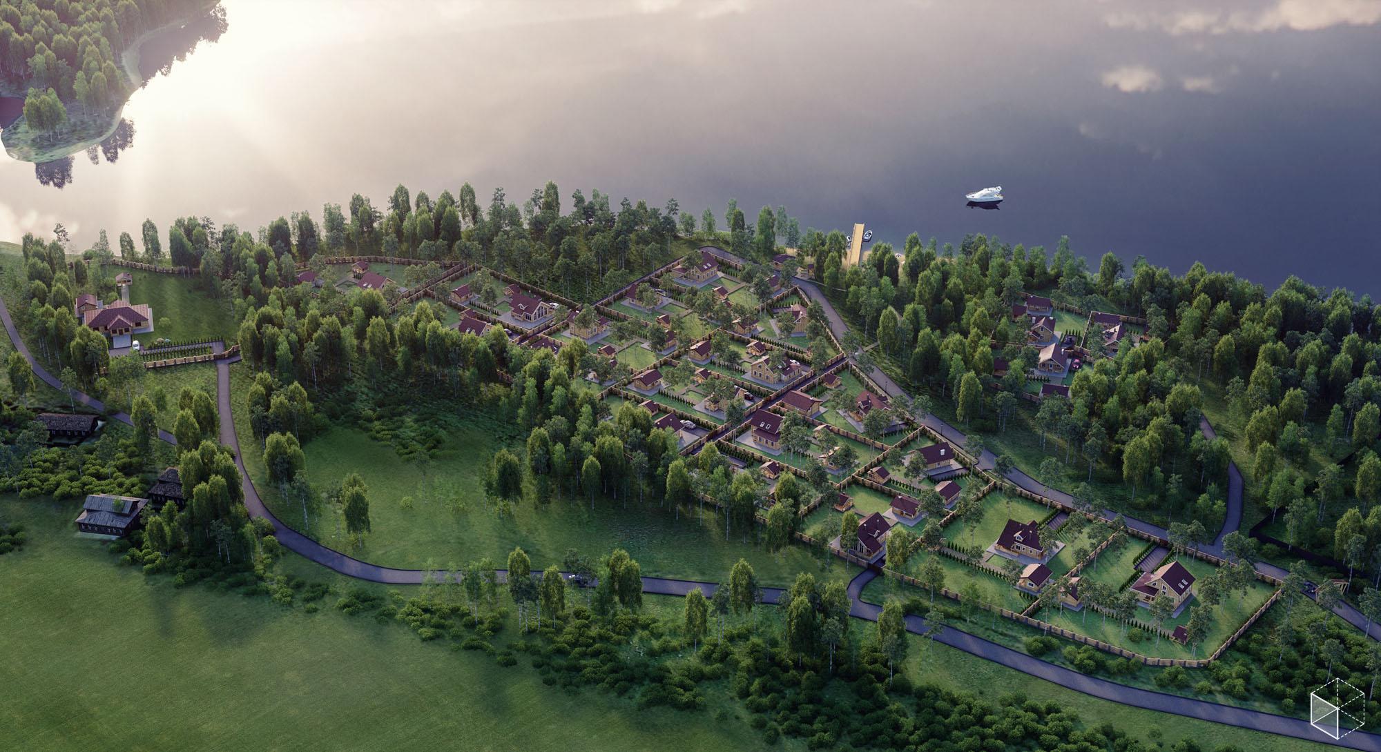 Коттеджный поселок Вашкино1.jpg