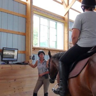 1-hour Private Video Analysis - riding with jumping