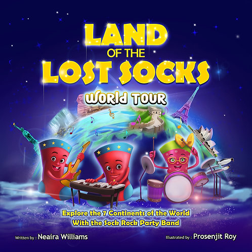 Land of the Lost Socks - World Tour (Hardcover)