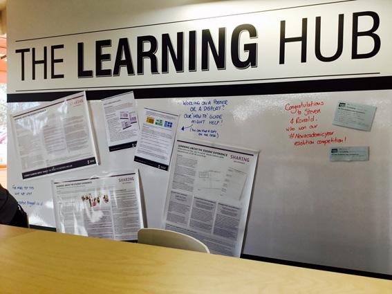Learning Hub Board