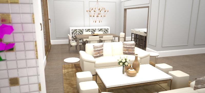 Living Area | Interior Design