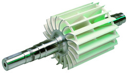 Turbine revêtue