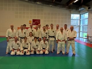 40 judokas du club à la plate–forme Nationale KATA.