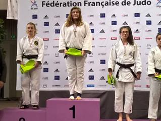 Alicia en argent au Critérium de France, Eva 5ème à la coupe de France.