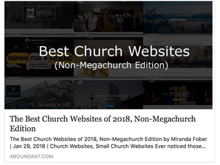 First Lutheran Church of Clarion Makes The List!