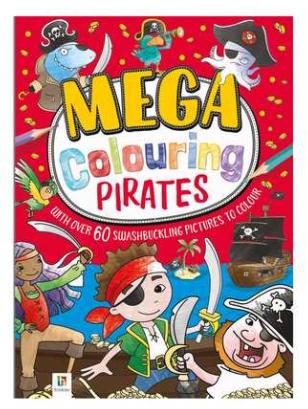 Mega Colouring Pirates