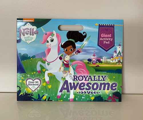 Nella the Princess Knight Giant Colouring Pad