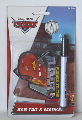 Cars Bag Tag & Marker