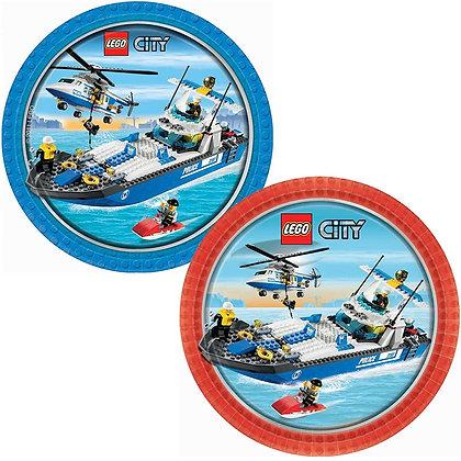 Birthday Theme - Lego City