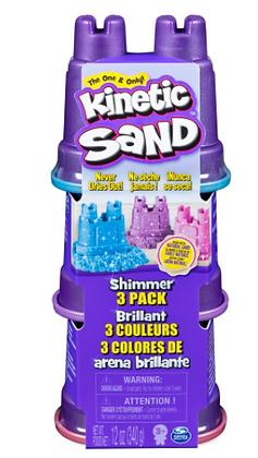 Kinetic Sand Shimmers 3pk