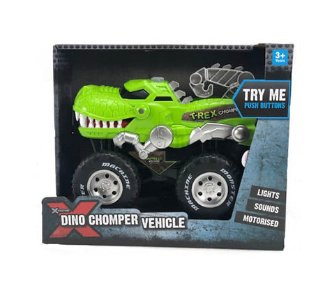 Xtreme Dino Chomper Vehicle