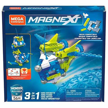 Mega Construx Magnext 3-in-1 Mag-Rockets