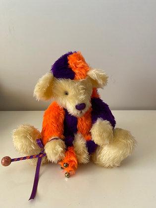 Handmade Jester Teddy Bear