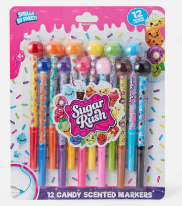 Candy Rush Candy Scented Markers