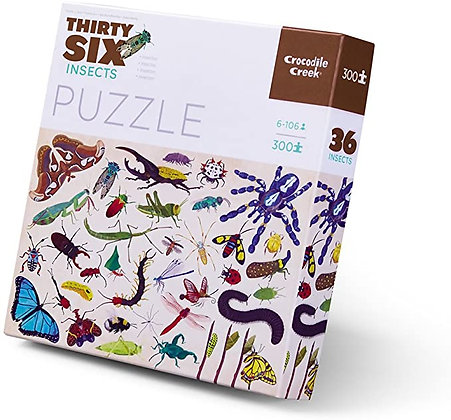 Crocodile Creek Insects Puzzle