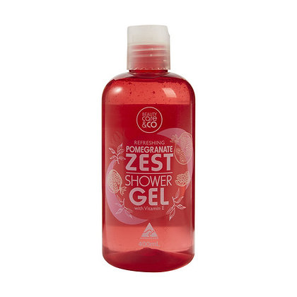 Pomegranate Zest Shower Gel
