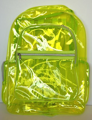 PVC Green Backpack