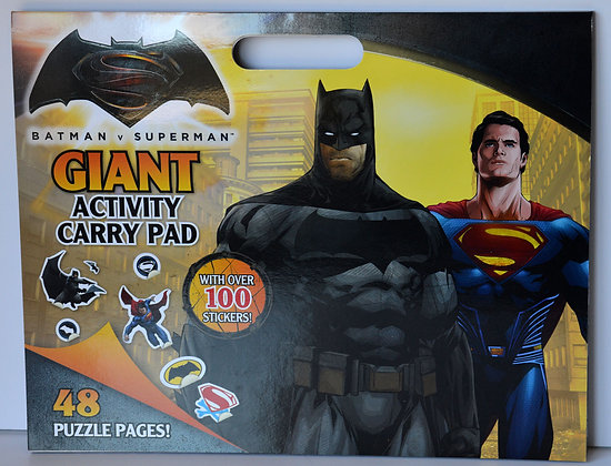 Batman V Superman Giant Activity Pad