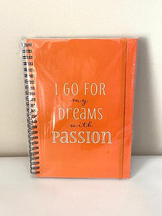 Dreams A5 Notebook