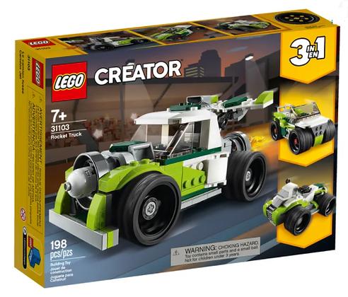 Lego Creator 3 in 1- Rocket Truck