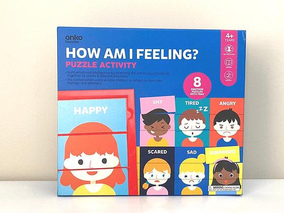 How Am I Feeling? Puzzle Activity