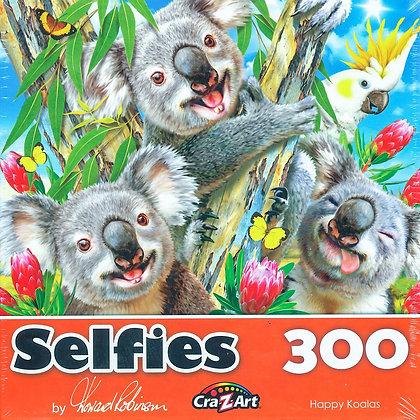 Jigsaw Puzzle - Happy Koalas