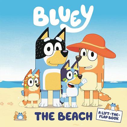 Bluey - The Beach, Lift the Flap Book