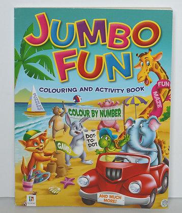 Jumbo Fun Colouring & Activity Book