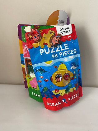 3 Pack 48 Piece Puzzles
