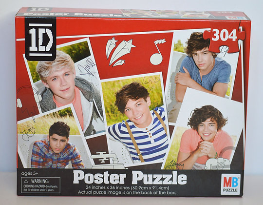 One Direction Poster Puzzle
