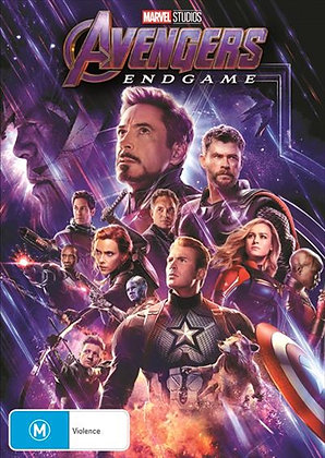 Avengers End Game DVD