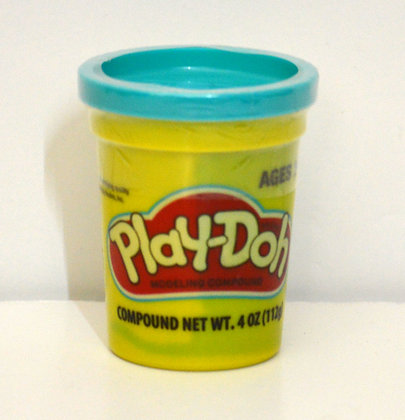 Single Play-Doh Tub - Blue