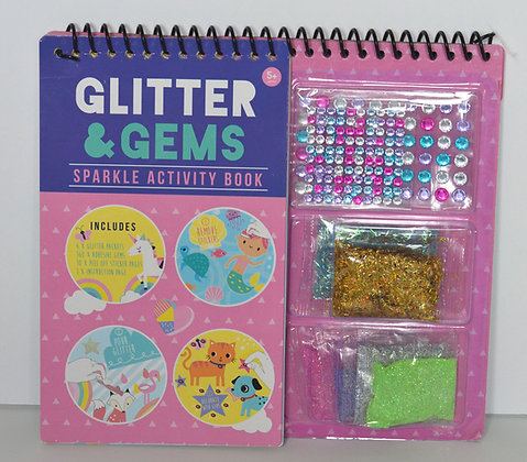 Glitter & Gems Sparkle Activity Book
