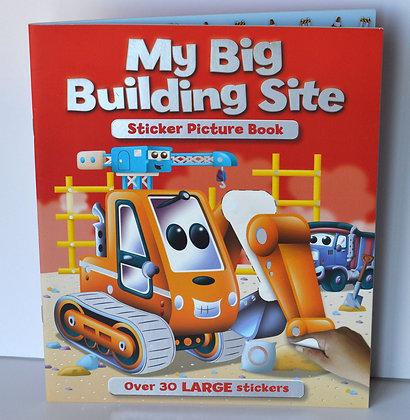My Big Building Site Sticker Book