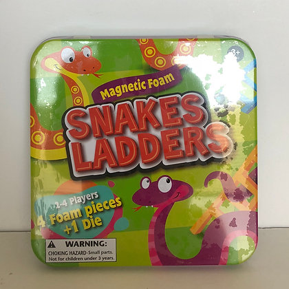 Magnetic Foam Snakes & Ladders