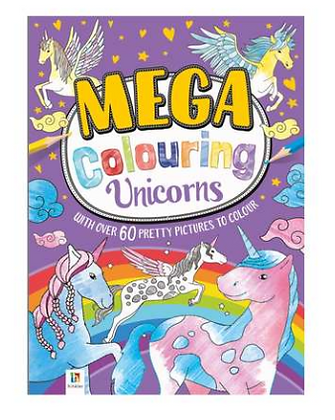Mega Colouring Unicorns
