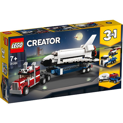 Lego Creator 3 in 1 - Space Shuttle Transport