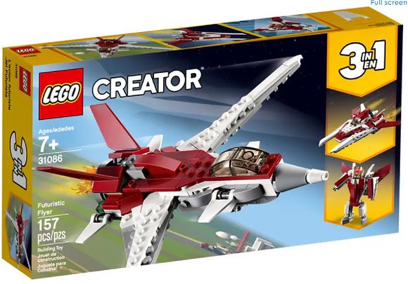 Lego Creator 3 in 1 - Futuristic Flyer