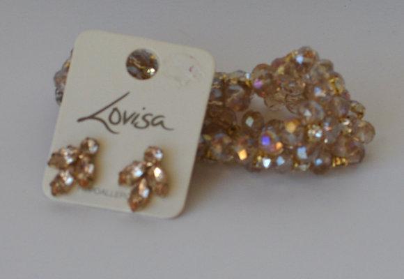 Lovisa Earring & Bracelet Set