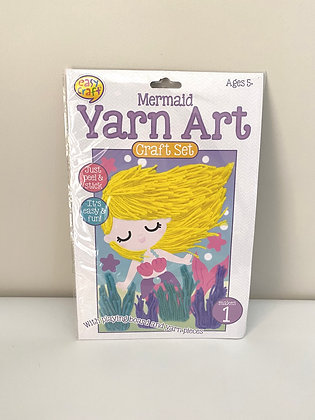 Mermaid Yarn Art