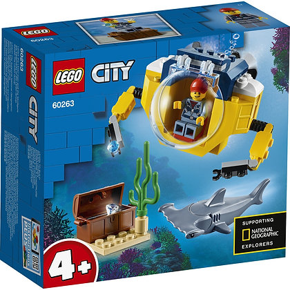 LegoCity - Ocen Mini-Submarine