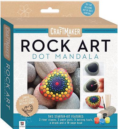 Rock Art Dot Mandala